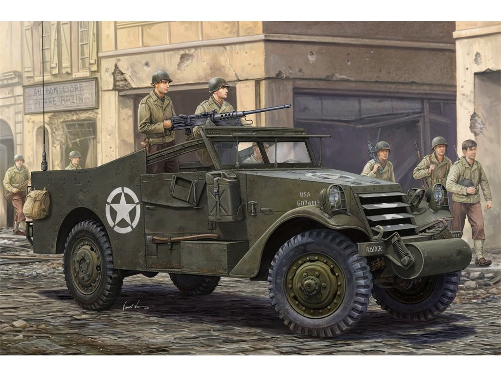 US M3A1 White Scout Car Late 1:35