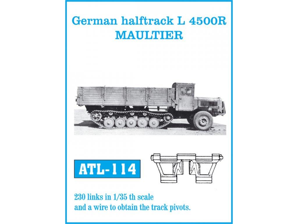 Kov. pásy Halftrack L 4500R MAULTIER 1:35