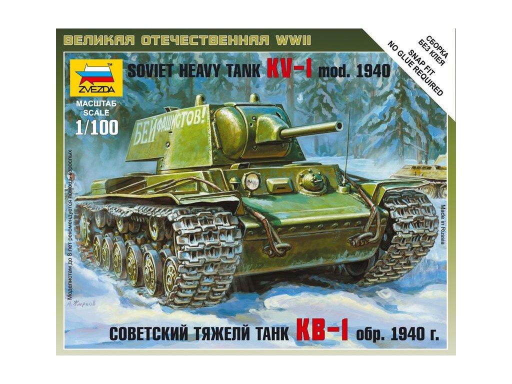 KV-1 mod. 1940 1:100
