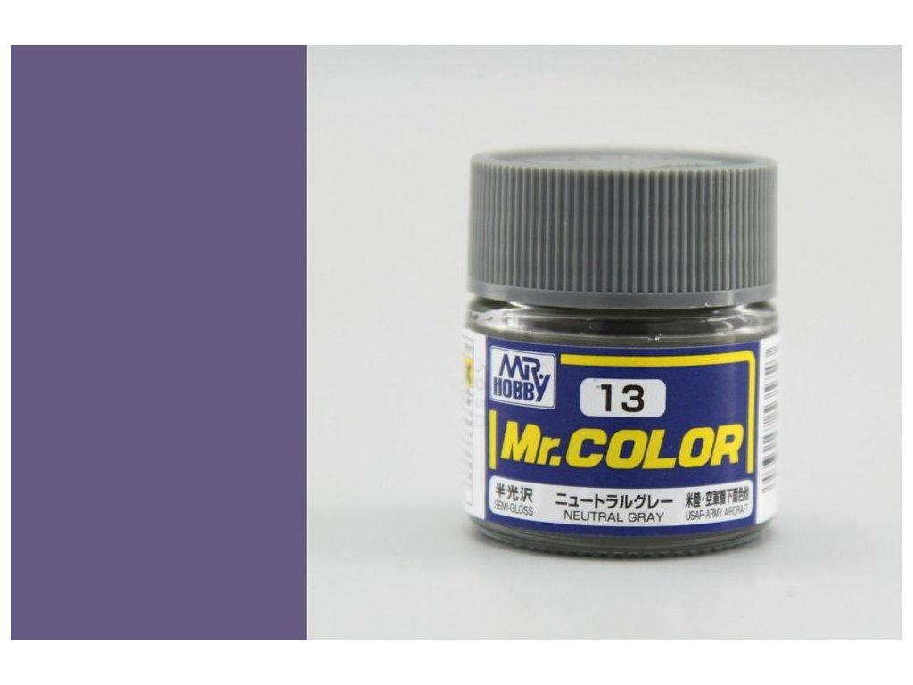 C013 Neutral Gray - Neutrálna šedá
