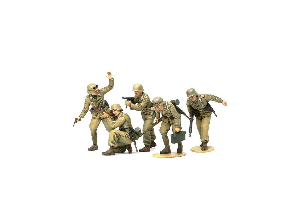 German Afrika Corps Infantry 1:35
