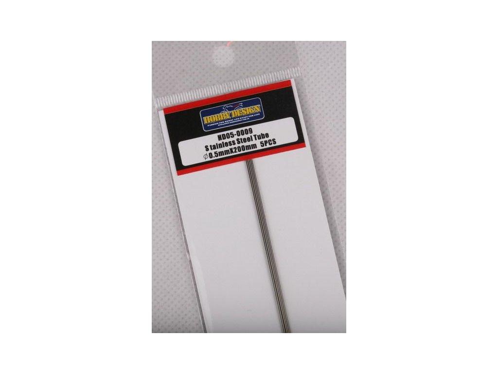 Trubice z nerezovej ocele / Stainless Steel Tube 0.5mm*200mm