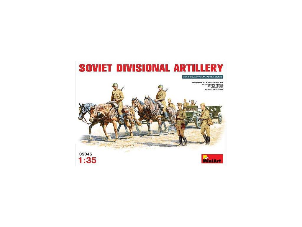 Sovietská delostrelecká jazda 1:35
