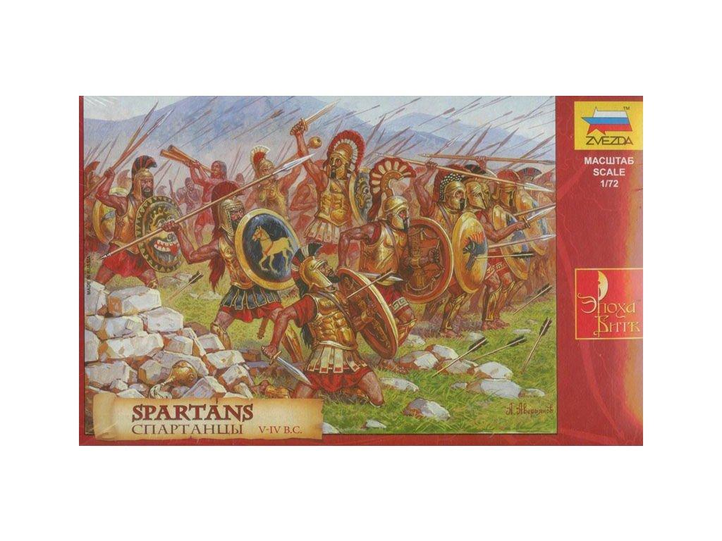 Spartans / Sparťania 1:72