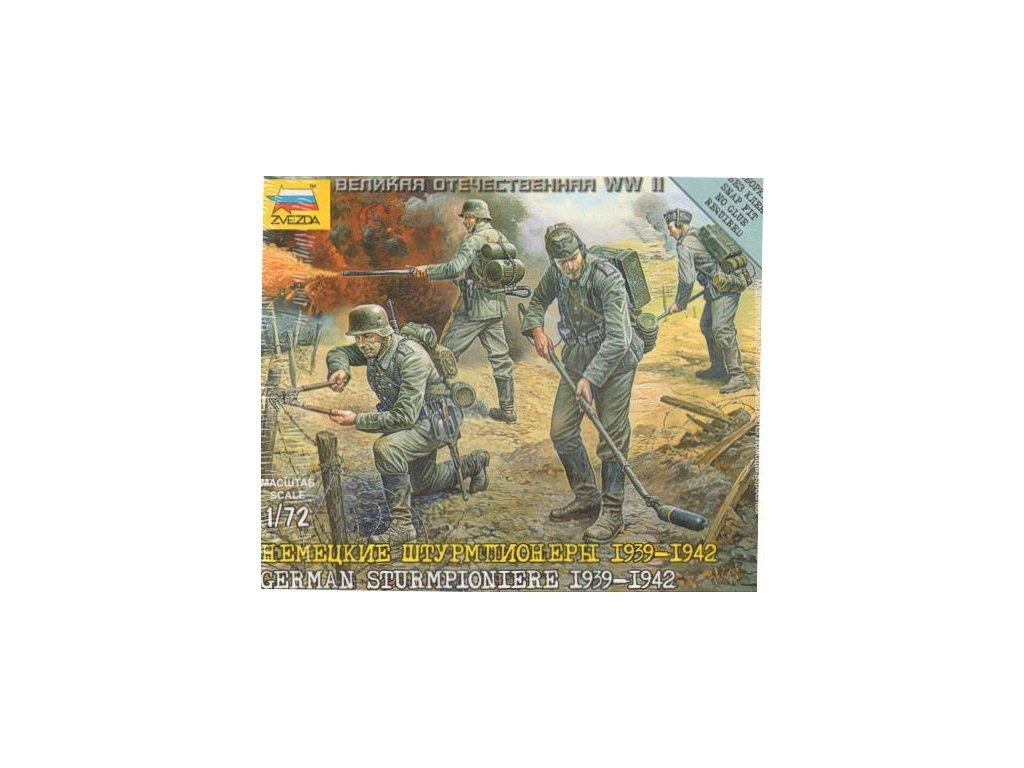 German Strurmpioniere 1939-42 1:72