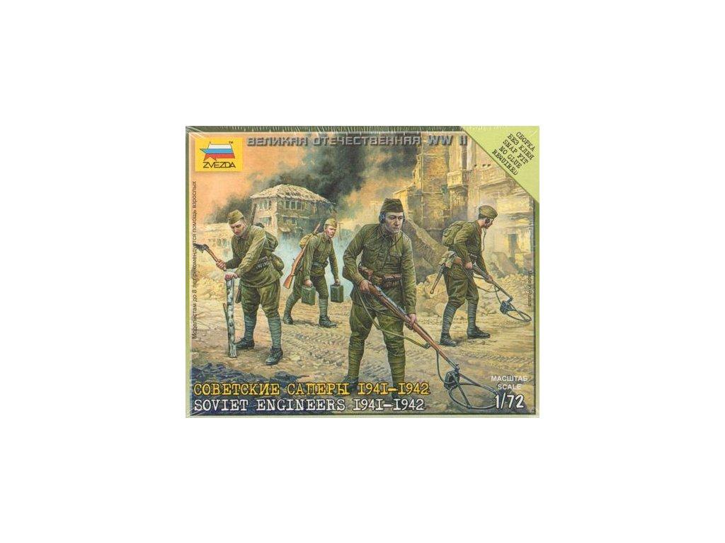 Soviet Enginiers 1941-42 1:72
