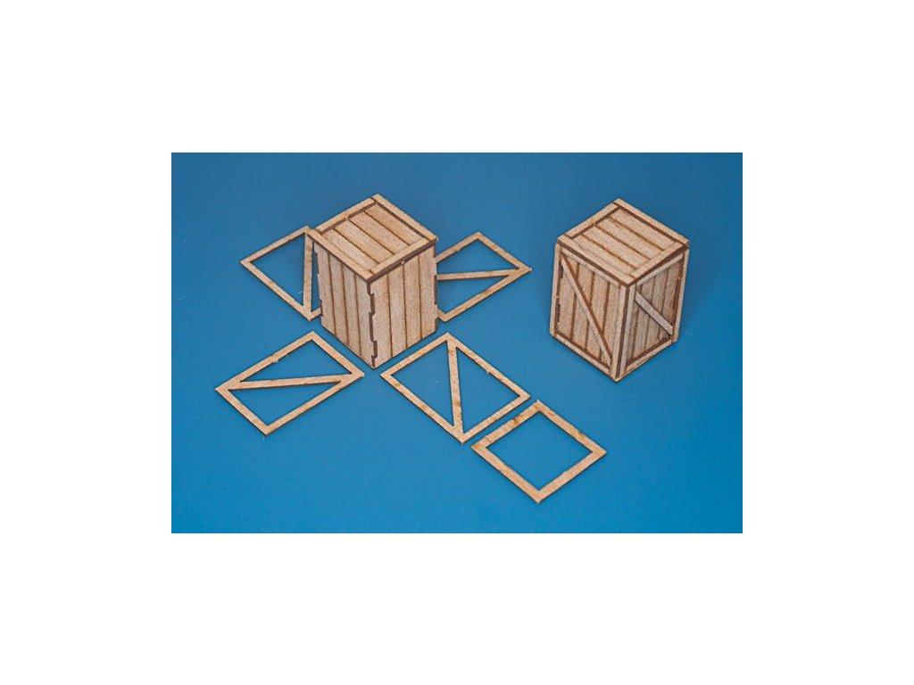 Universálna debna (orig. rozmer :45cm x 45cm x 70cm) 4ks 1:35