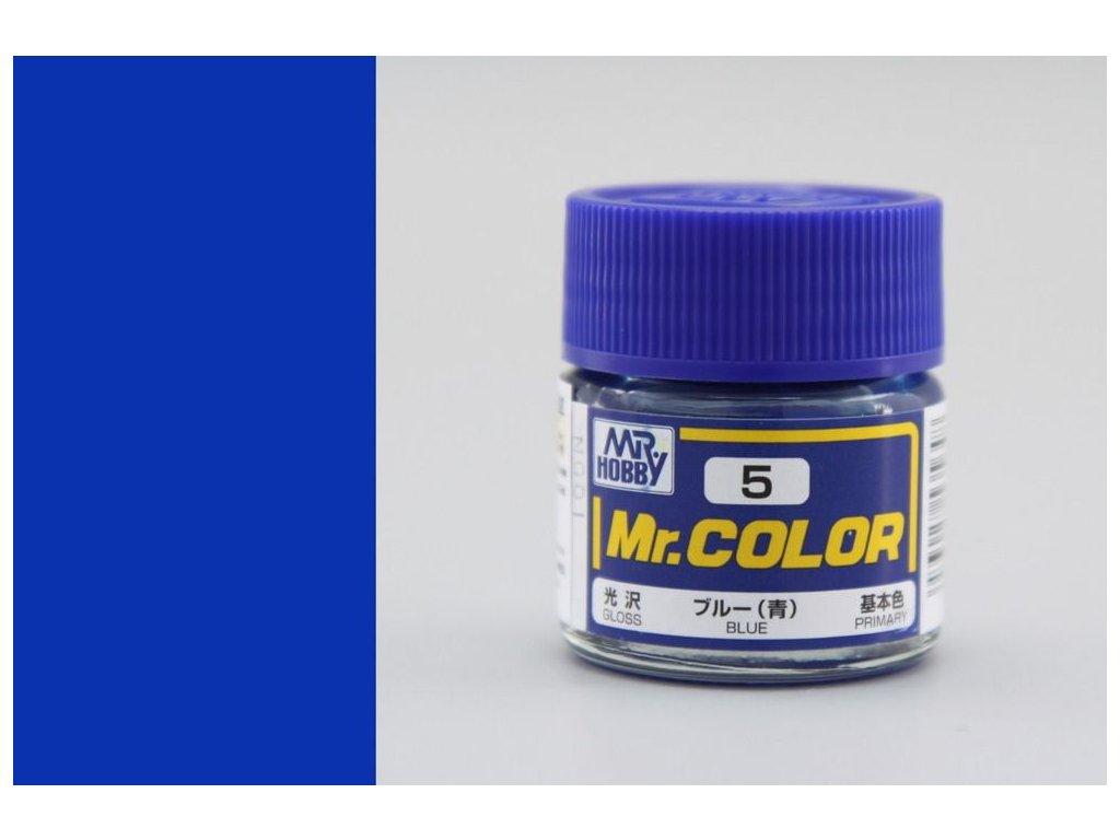 C005 Blue - Modrá