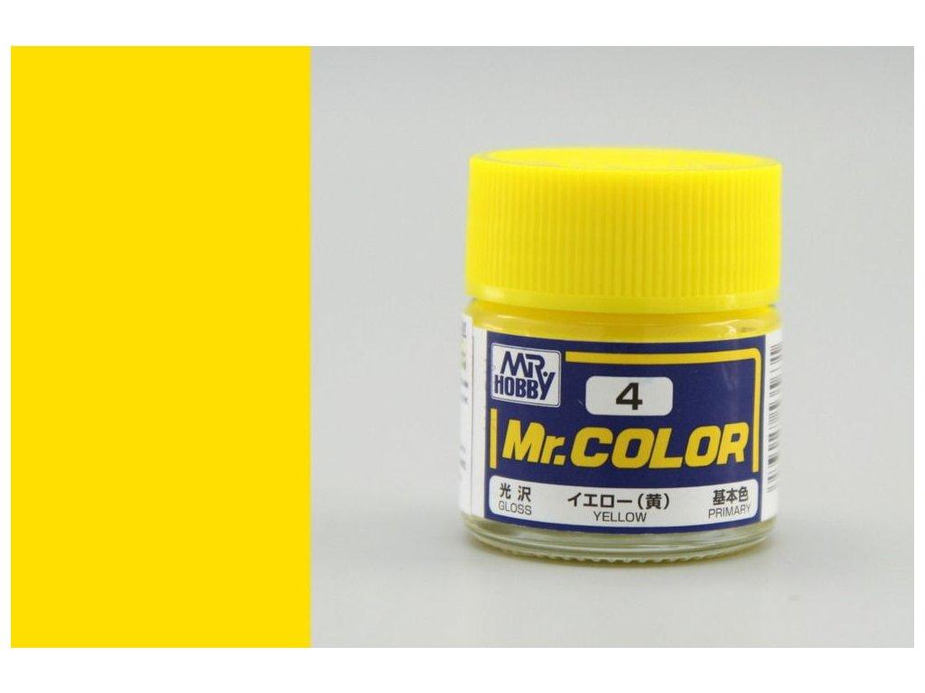 C004 Yellow - Žltá