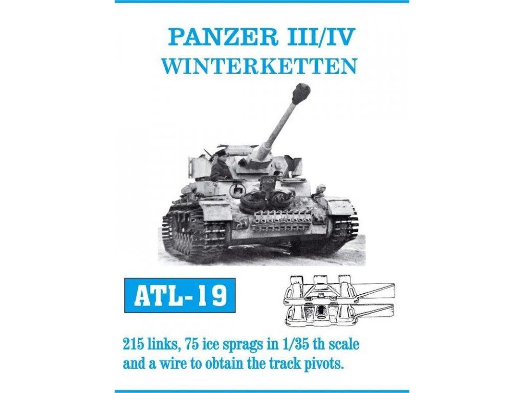 Kovové pásy Panzer III/IV Winterketten 1:35