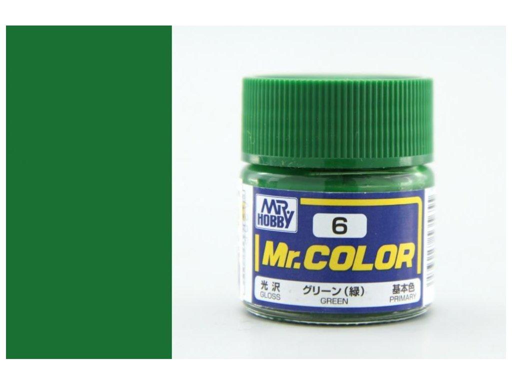 C006 Green - Zelená