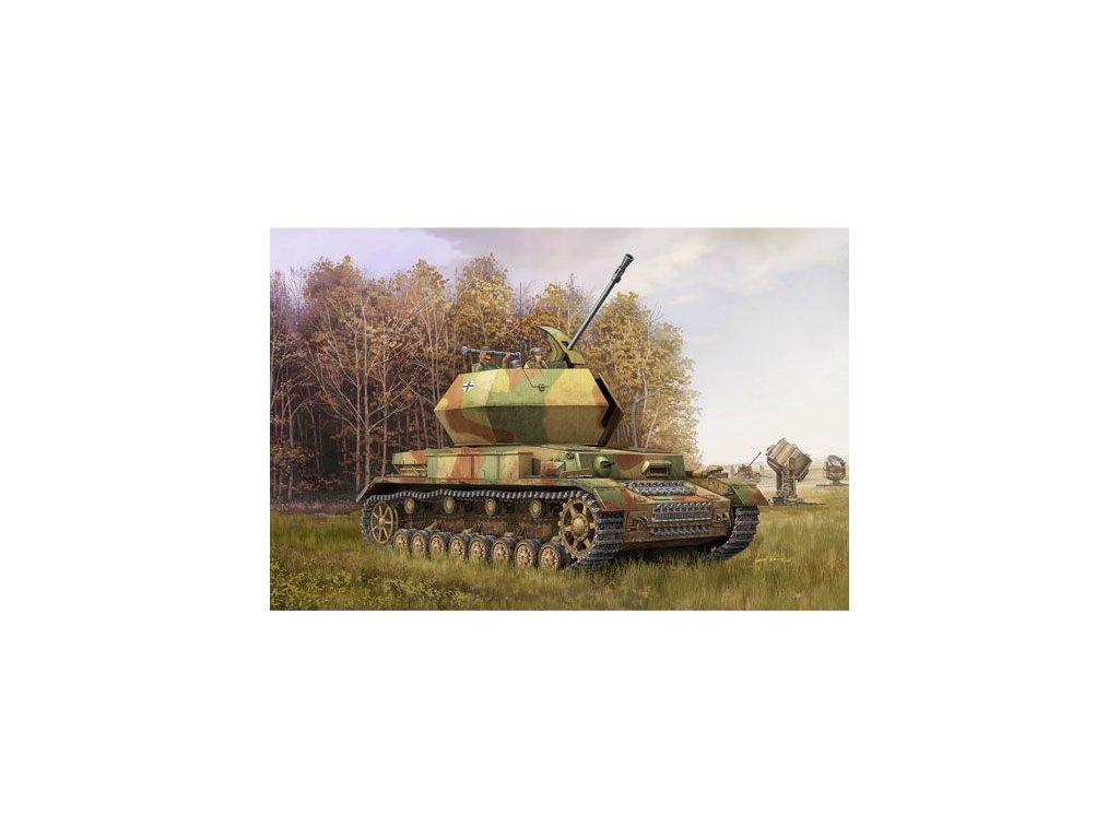 "3.7cm Flak 43 Flakpanzer Iv ""Ostwind"" 1:35"