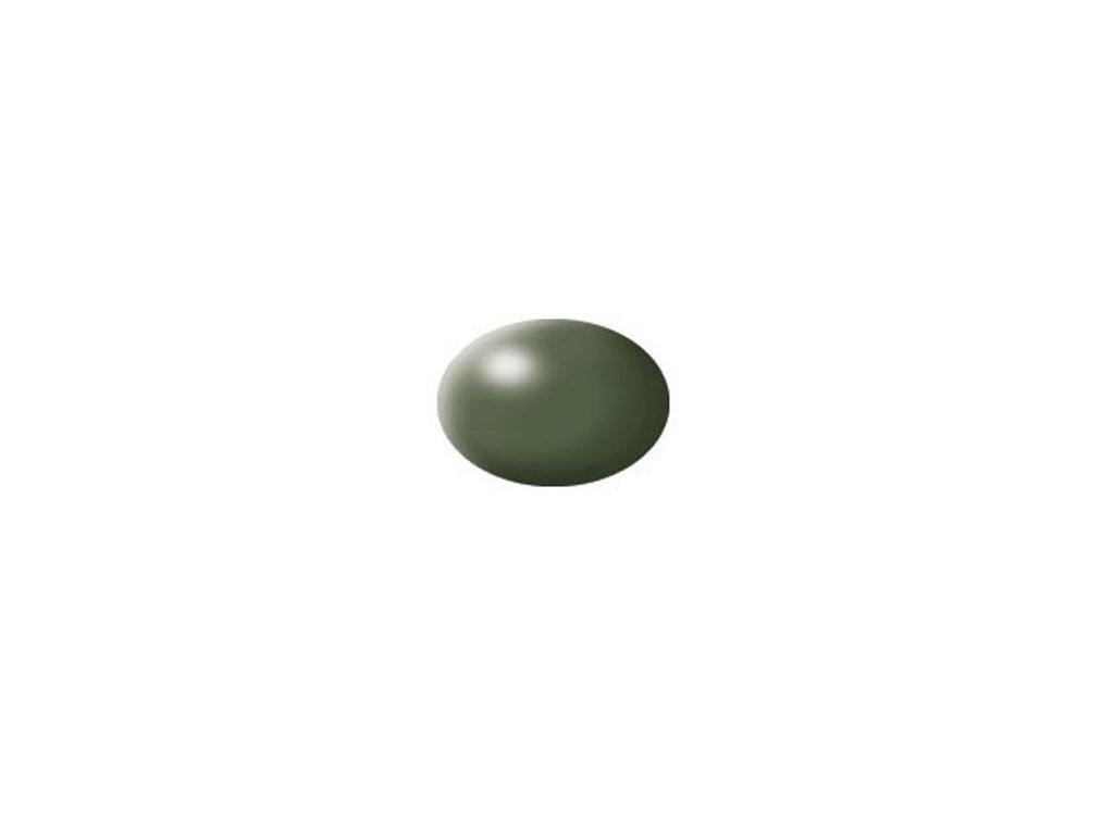 Aqua color 361 olivovo zelená