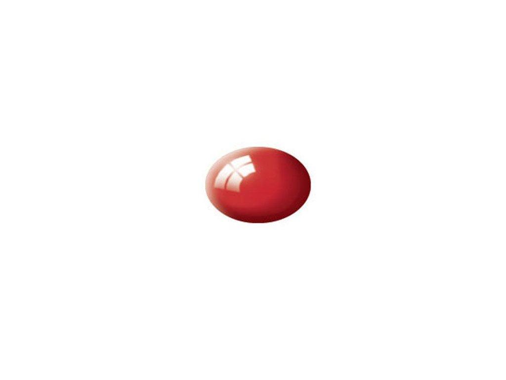 Aqua color 31 ohnivo červená