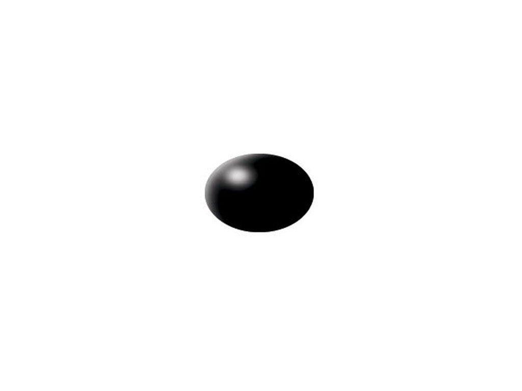Aqua Color 302 čierna