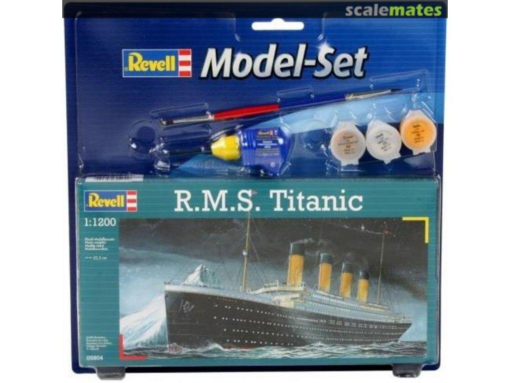 RMS Titanic Model Set 1:1200