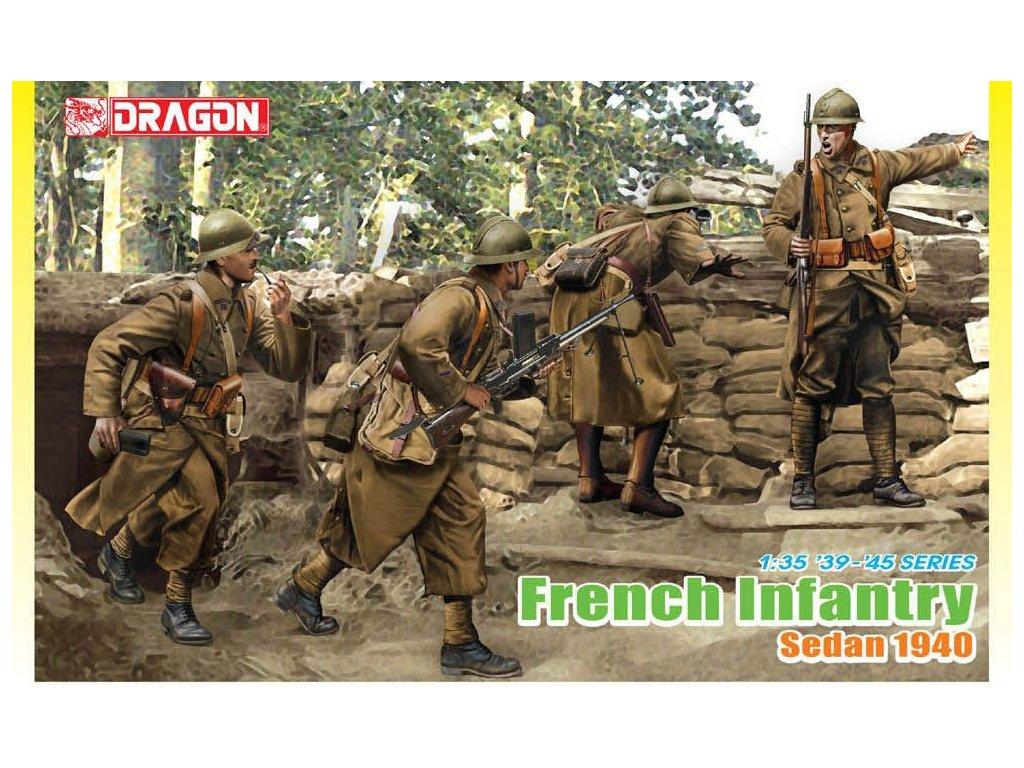 French Infantry, Sedan 1940 1:35