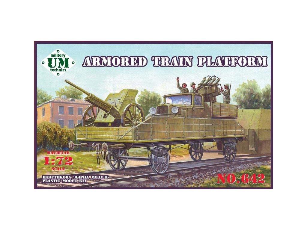 Armored Train Platform (3-in-1) 1:72