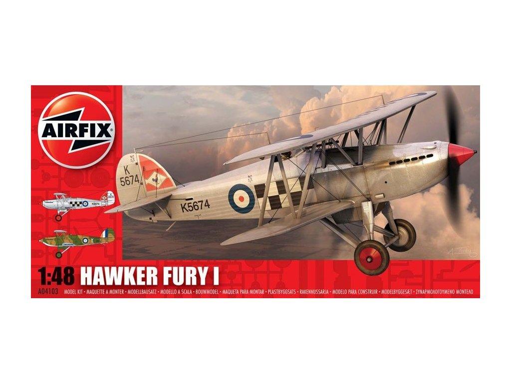 Hawker Fury 1:48