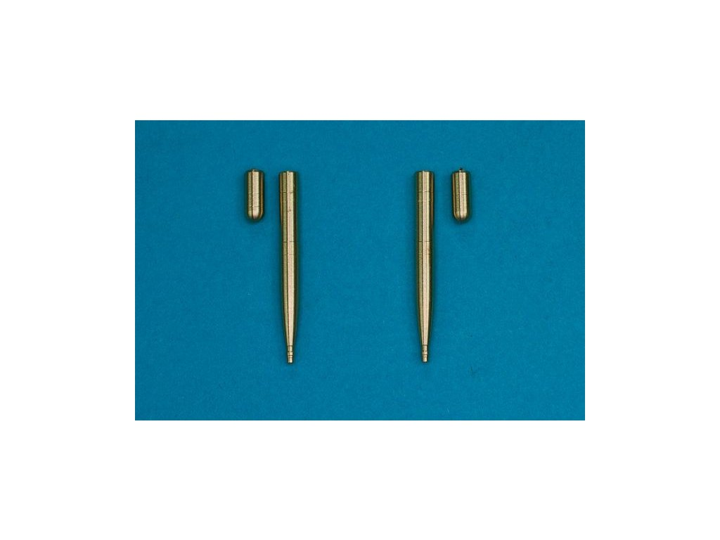 2 x 20mm Hispano cannons 1:48