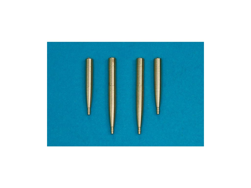 4 x 20mm Hispano cannons 1:48