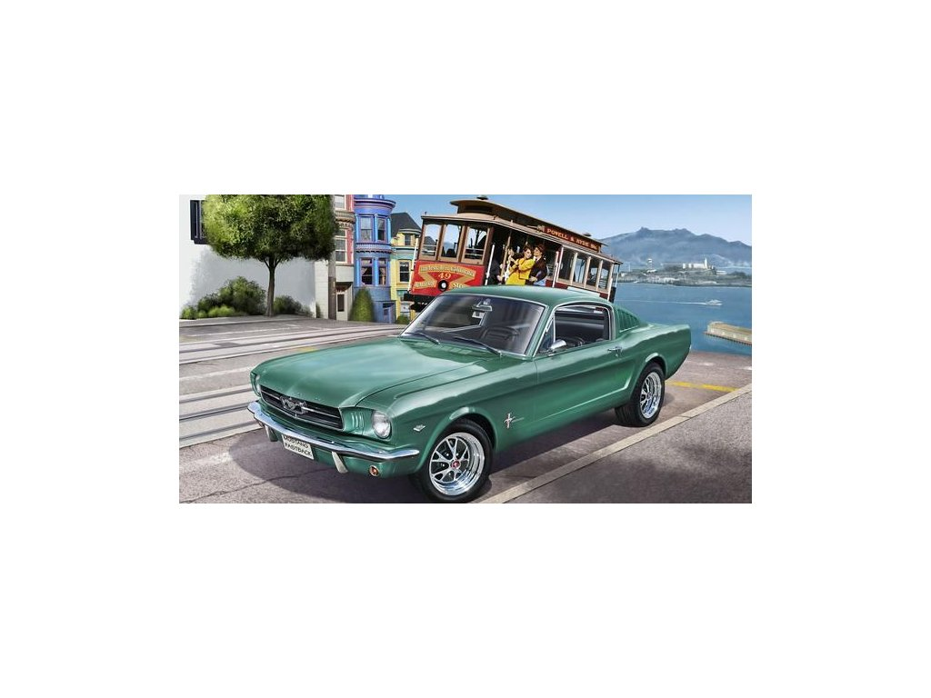 Ford Mustang 1965 2+2 Fastback 1:24