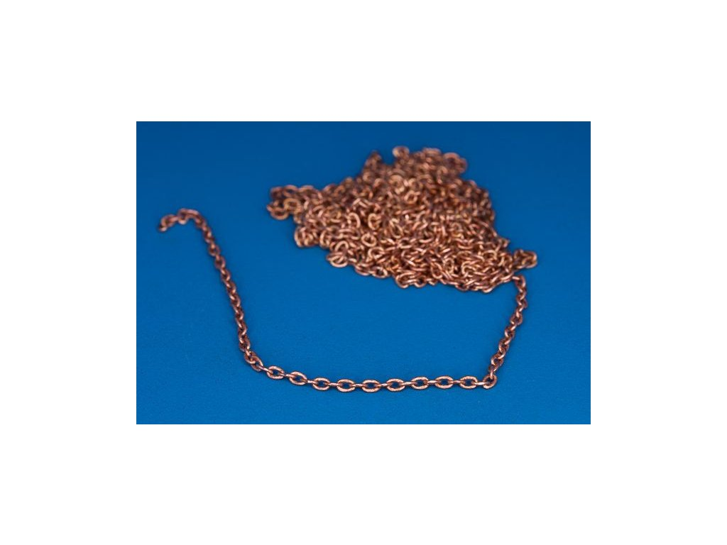 Brass chain 0,95-1,45  1m