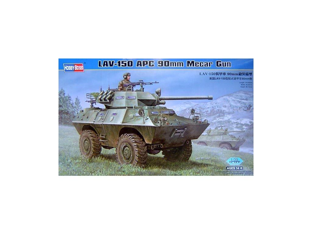 LAV-150APC 90mm Mecar Gun 1:35