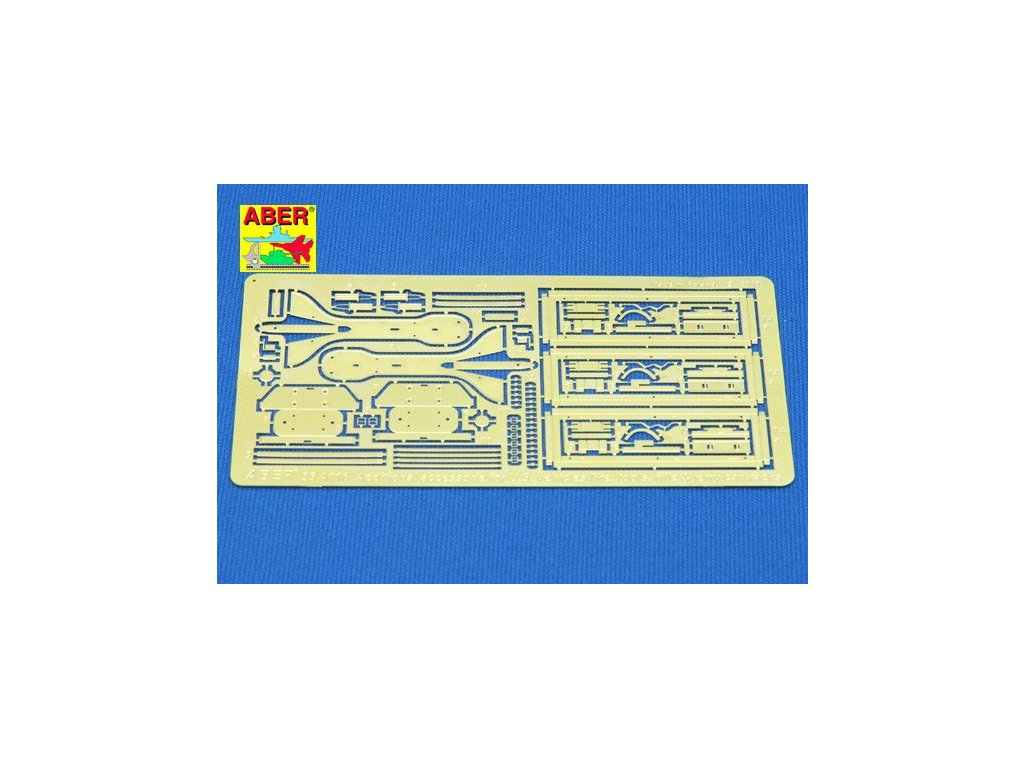 Additional accessories for U.S. vehicles like: tools , rifle & jerry can racks 1:35
