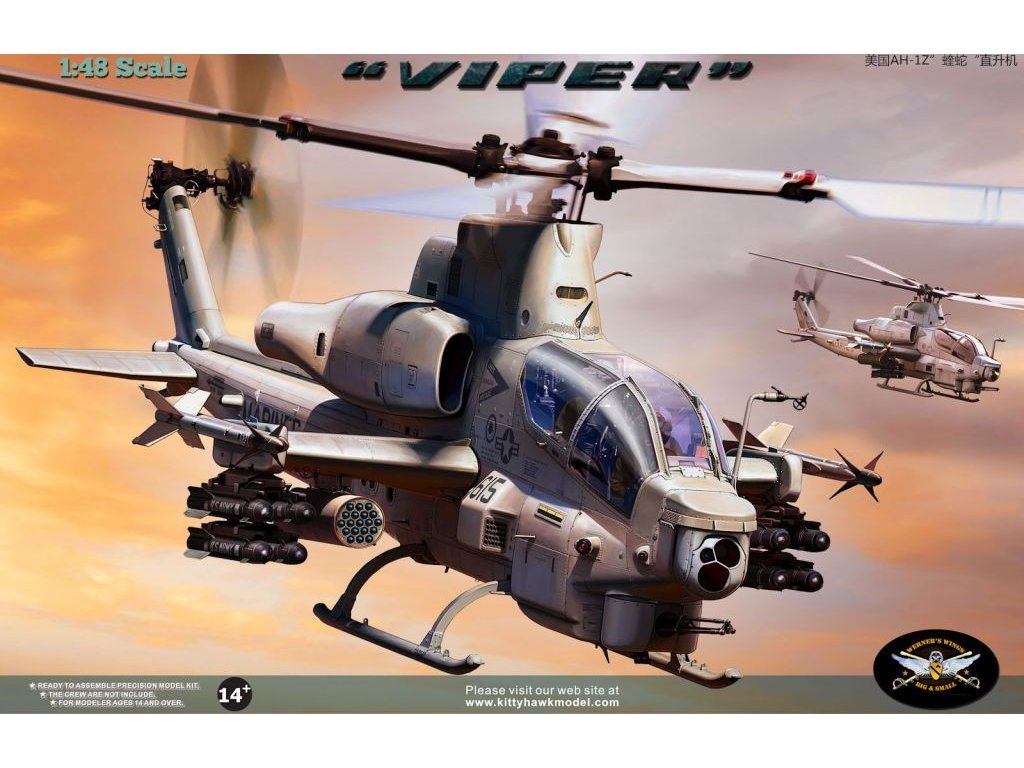 AH-1Z VIPER 1:48