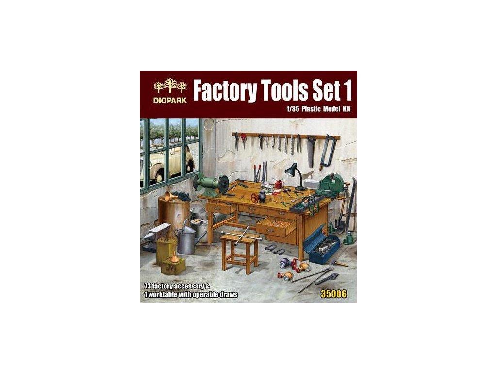 Factory Tools Set 1:35