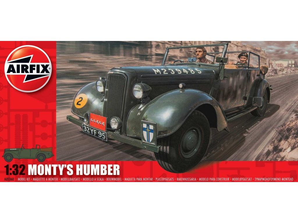 Monty´s Humber 1:32