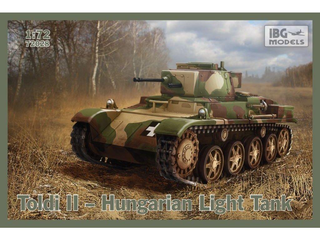 TOLDI II Hungarian Light Tank 1:72