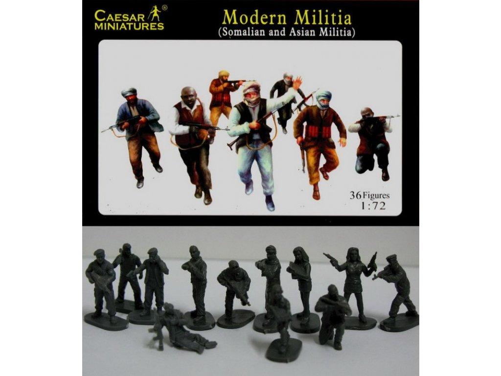 Modern Militia (Asian and Somalian Militia) 1:72