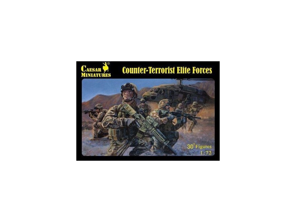 Counter-Terrorist Elite Forces 1:72