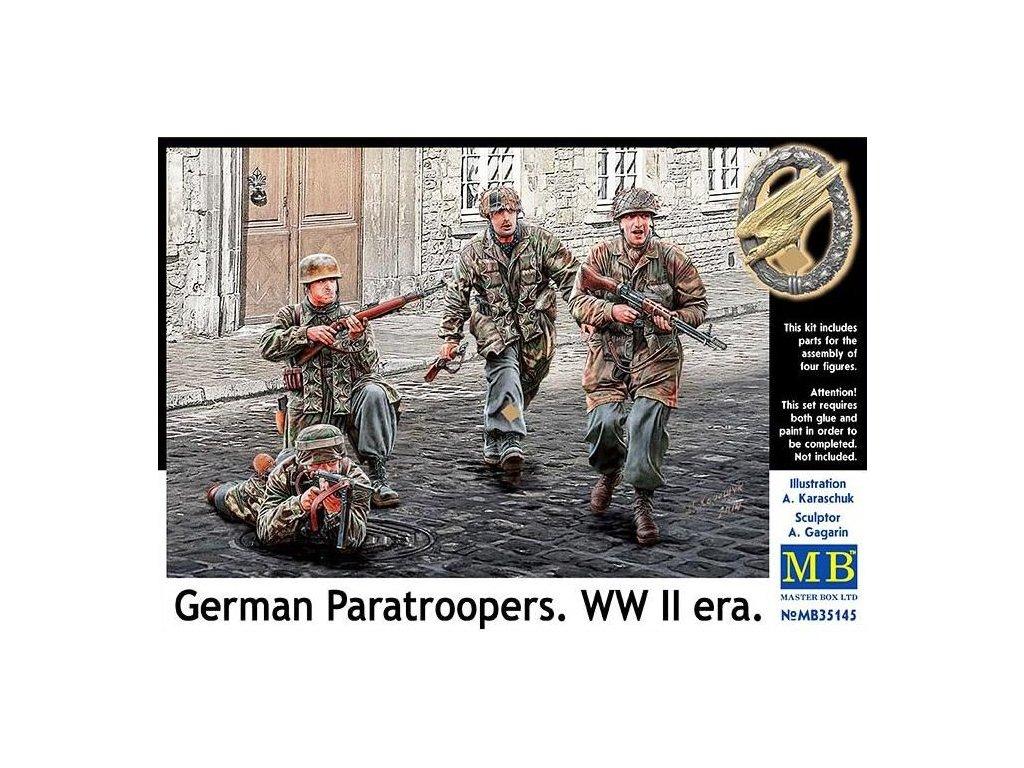 Nemeckí parašutisti, 2. sv. vojna 1:35
