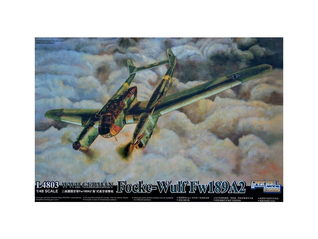 Focke Wulf  Fw-189 A2 1:48