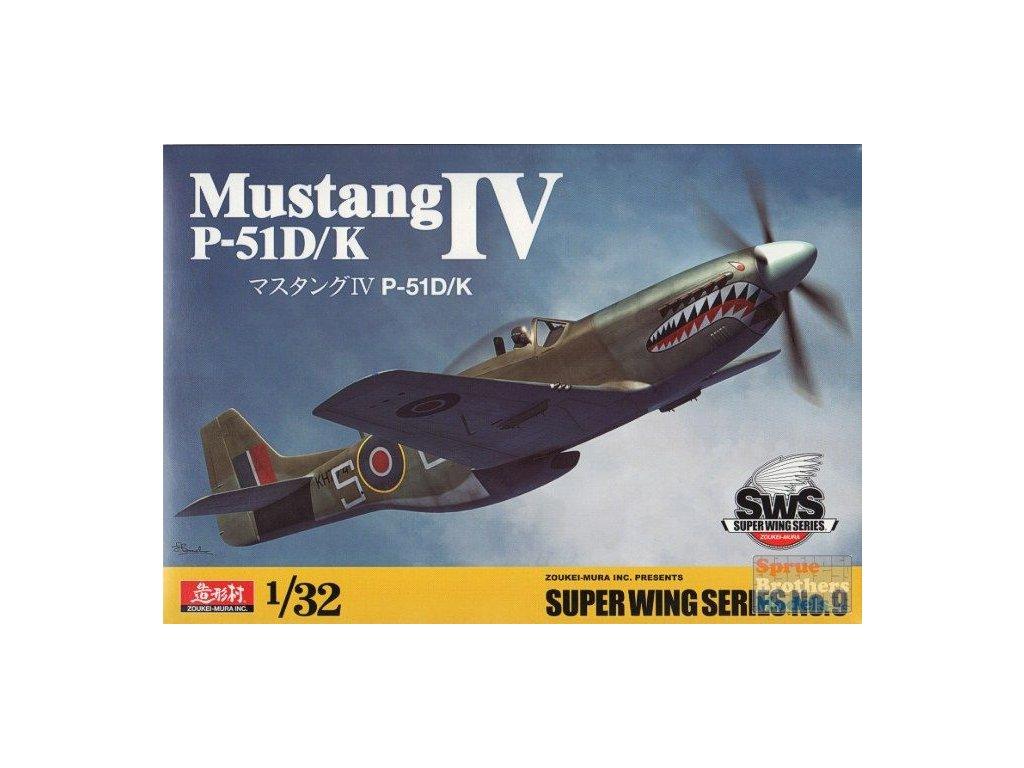 P-51D/K Mustang IV 1:32
