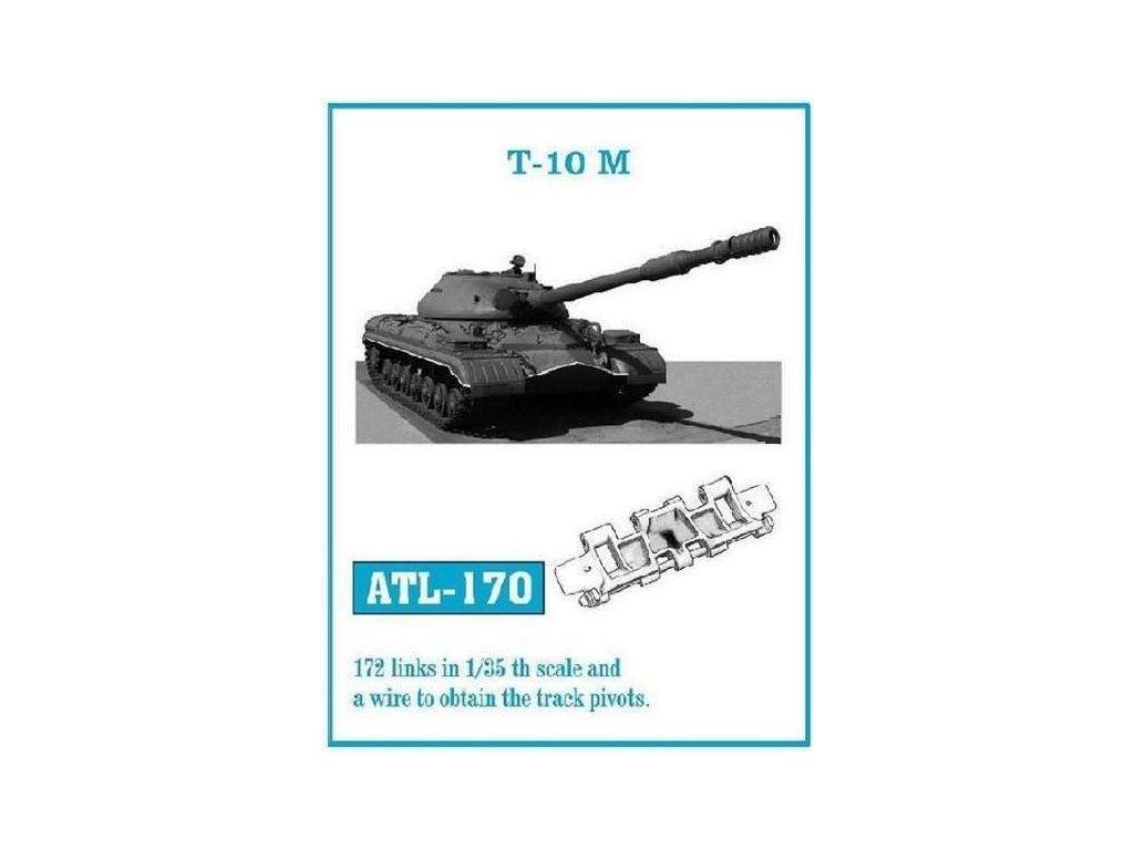 Kovové pásy pre T-10M 1:35