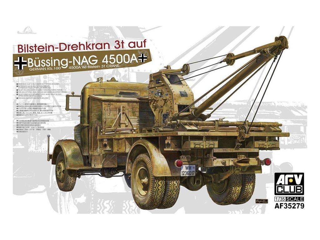 Nemecký žeriavKfz.100 L4500A W/ Bilstein 3T 1:35