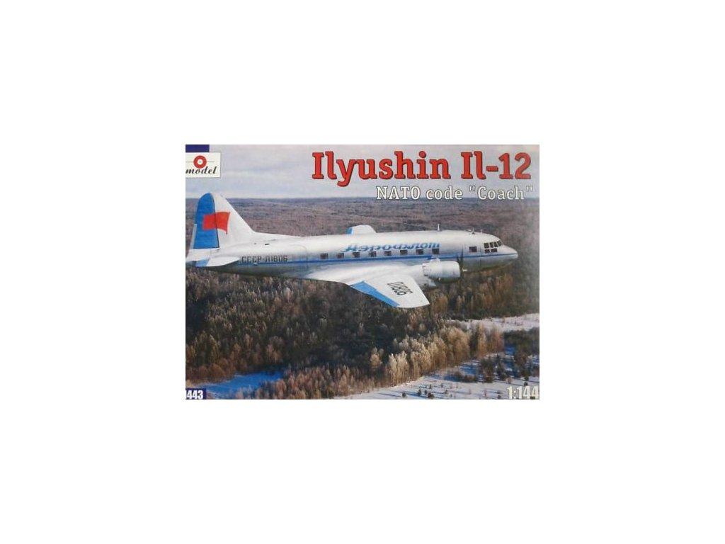 Ilyushin IL-12 Aeroflot 1:144