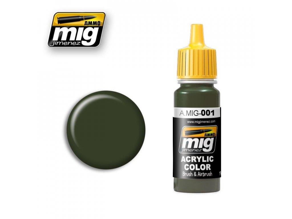 RAL 6003 Olivgrun Opt.1 / Olivovozelená
