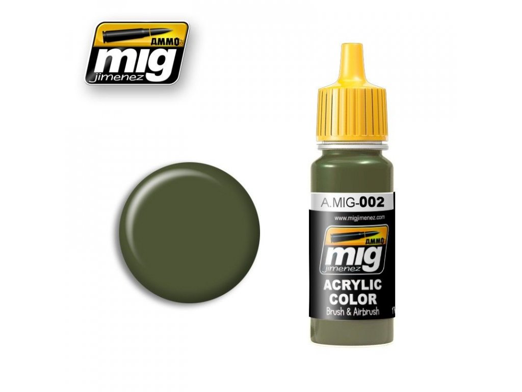 RAL 6003 Olivgrun Opt.2 / Olivovozelená