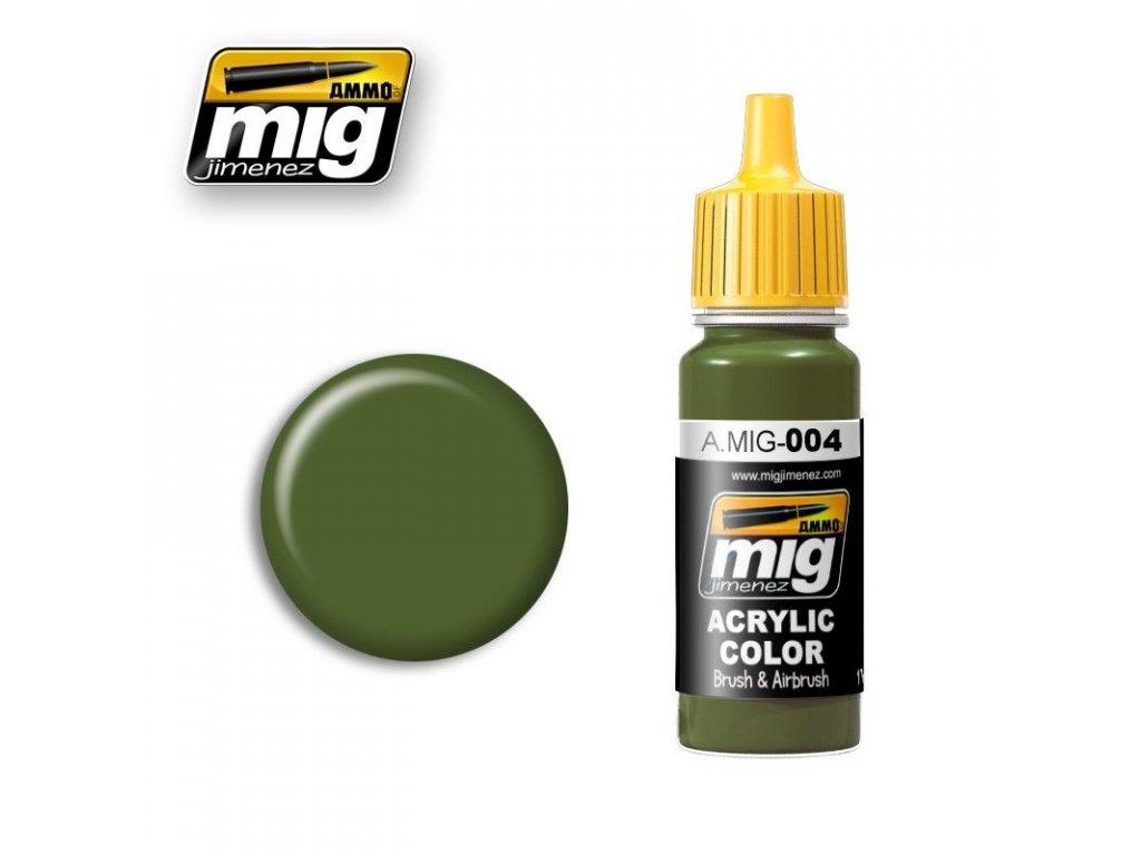 RAL 6011 B Resedagrun / Rezedová zelená B