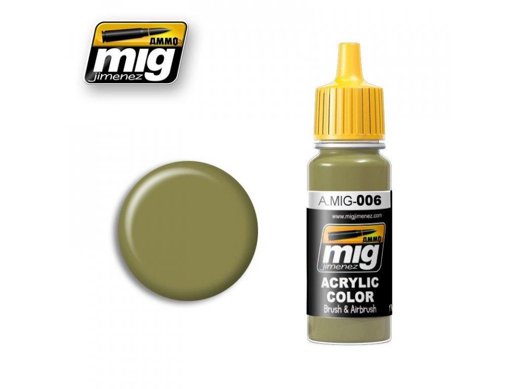 RAL 6011 B Graugrun Opt. 2 / Sivozelená 2