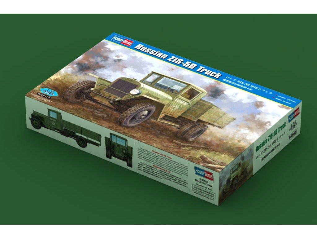 Russian ZIS-5B Truck 1:35