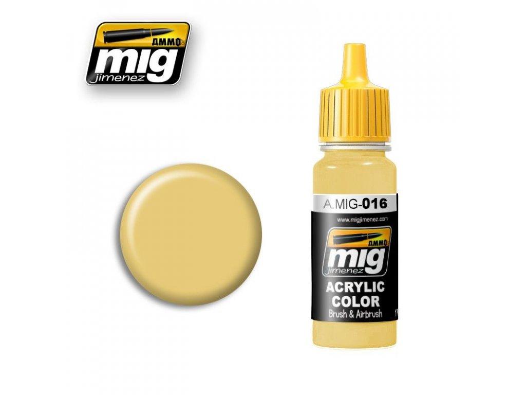 RAL 8020 Gelbbraun / žltohnedá