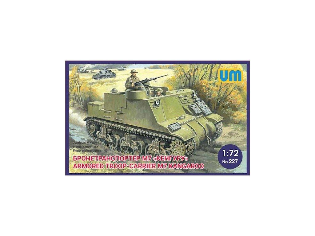 Armored troop-carier M7 Kangaroo 1:72
