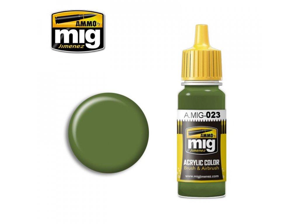 Protective Green / Ochranná zelená