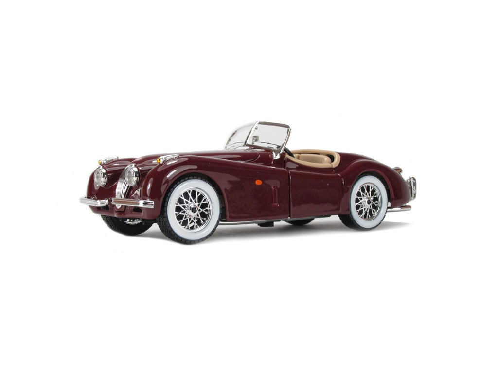 Jaguar XK 120 1951 (red) 1:24